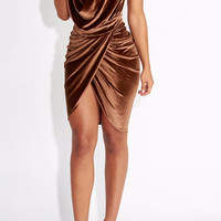 Sasha Velvet Bodycon Dress