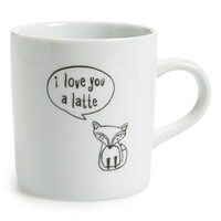 Natural Life 'Fox - Latte' Ceramic Mug