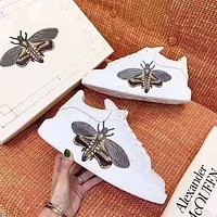 Alexander McQueen Little white shoes-1