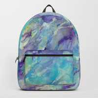 Tempting Turquoise Backpacks by Rosie Brown