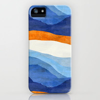 Mountains in the Morning iPhone Case by Chris Klemens | Society6