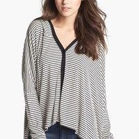 Painted Threads Hooded Oversized Cardigan (Juniors) | Nordstrom