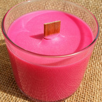 Wood Wick Soy Candle - Dragon's Blood - Ecofriendly Candle