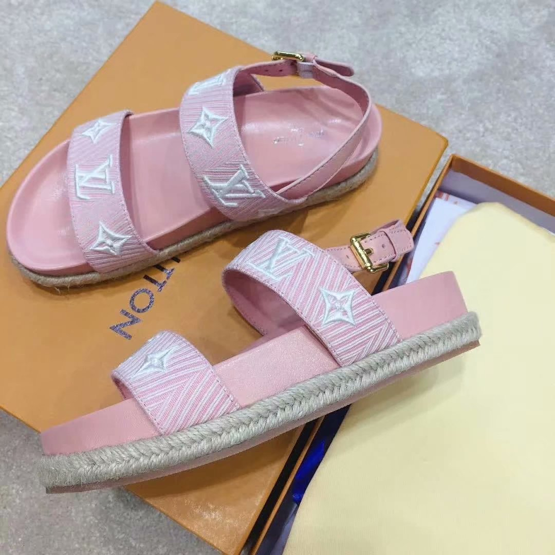 Image of LV Louis Vuitton Fashion Men Women's Casual Running Sport Shoes Sneakers Slipper Sandals High Heels Shoes