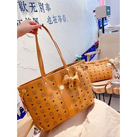 Hot33 Women Leather Shoulder Bags Satchel Tote Bag Handbag Shopping Leather Tote Crossbody