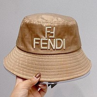 FENDI New Summer Hat Double F Letter High Quality Embroidered Fisherman Hat #4