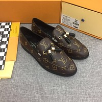 LV Louis Vuitton 2021 NEW ARRIVALS Women's CHESS Loafers Shoes