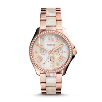 Cecile Horn Acetate Watch | Fossil