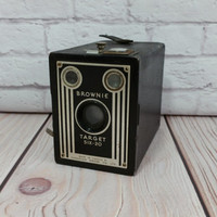Vintage Brownie Target Six-20 Kodak Box Camera