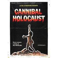 Cannibal Holocaust Poster//Cannibal Holocaust Movie Poster//Movie Poster//Poster Reprint