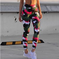 Women Camouflage Workout Leggings