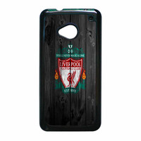 Liverpool FC Wood Style HTC One M7 Case