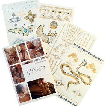 Flash Tattoos Desert Dweller Tattoo Pack | Boutique To You