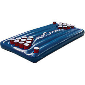 Great Beer Pong Pool Table for Beer Pong Games on the Water!