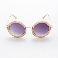 Le Specs Ziggy Round Sunglasses - Urban Outfitters