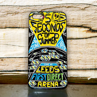 5 Second of summer The art design Music iPhone 4,5,6+ Samsung S3,S4,S5,S6 iPod 4