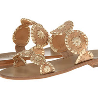 Jack Rogers Lauren Gold/Cork - Zappos.com Free Shipping BOTH Ways