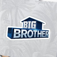 'Big Brother Logo' Sticker by shafer