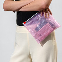 5 Pink Pouches