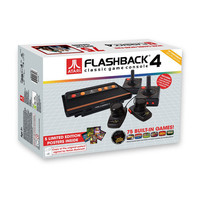 Atgames Atari Flashback Classic Game Console Black One Size For Men 24520410001