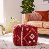 Tufted Rug Pouf   Urban Outfitters
