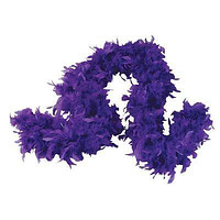 1 Feather Boa for Dress Up - Purple