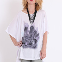 Crystal Healing Tunic Tee by Mink Pink - $49.00 : ThreadSence.com, Your Spot For Indie Clothing & Indie Urban Culture