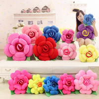 Gifts funny flower  pillow  creative chair cushion with filling cotton inside
