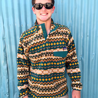 Patagonia Men's Synchilla Snap-T Pullover- Cliff Arbor Green
