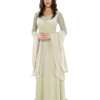 Lord of the Rings Queen Arwen Deluxe Adult Womens Costume – Spirit Halloween