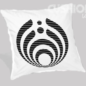 bassnectar logo Pillow Cover
