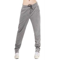 Urparcel Casual Womens Pencil Sweat Pants Straight Sports Harem Hip-Hop Pants