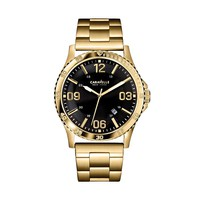 Caravelle New York by Bulova Watch - Men's Gold Tone Stainless Steel (Yellow)