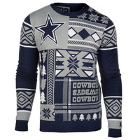 """Dallas Cowboys Official Men's NFL """"Ugly Sweater"""" - Choose your Style!"""