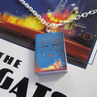 The Great Gatsby Book Necklace