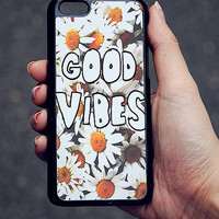 Daisy Good Vibes iPhone Case 5/5S 5C 4S/4