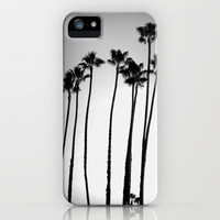 palm trees land iPhone Case by Marianna Tankelevich   Society6