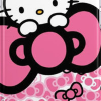 pink bow hello kitty  iPhone Cases & Skins