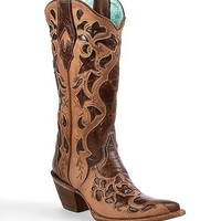 Corral Cut-Out Cowboy Boot