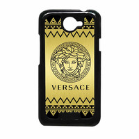 Versace Chevron Gold Edition HTC One X Case