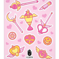 MAGIC WEAPONS STICKERS - PREORDER