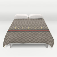 Gucci Class Duvet Cover by Goldflakes