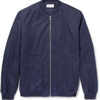 Hentsch Man - Cotton-Twill Bomber Jacket | MR PORTER