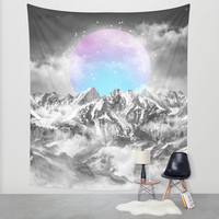 It Seemed To Chase the Darkness Away II Wall Tapestry by Soaring Anchor Designs