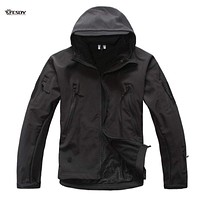 Soft Shell Tactical Military Jacket For Men