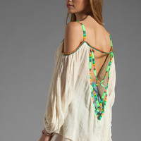 Jen's Pirate Booty Kauai Backless Tunic in Neon Stripe with Natural from REVOLVEclothing.com