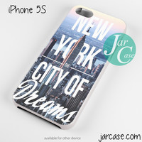 New York City Of Dreams Phone case for iPhone 4/4s/5/5c/5s/6/6 plus