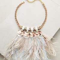 Heari Feather Bib Necklace