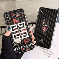 GIVENCHY LV Louis Vuitton FILA KENZO Newest Popular Women Men iPhone Phone Cover Case