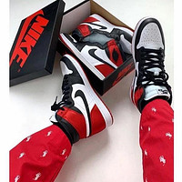 NIKE AIR JORDAN 1 High Retro Basketball Sneakers Sport Shoes